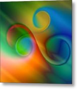 Listen To The Sound Of Colors -2- Metal Print by Issabild -
