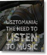 Lisztomania Metal Print