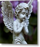 Little Angel Metal Print