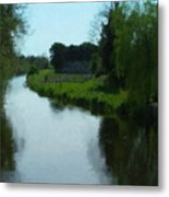 Little Brosna River Riverstown Ireland Metal Print