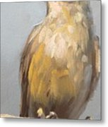 Little Brown Bird Metal Print