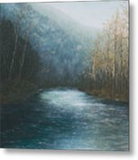 Little Buffalo River Metal Print by Mary Ann King