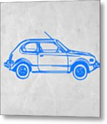 Little Car Metal Print