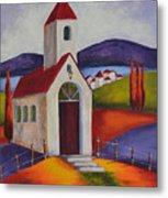 Little Chapel 1 Metal Print