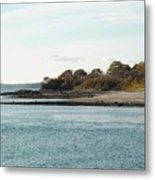 Little Chebeague Beach Metal Print