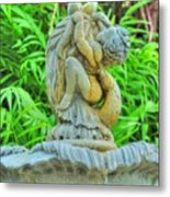 Little Cherub Metal Print