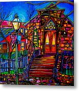 Little Church At La Villita II Metal Print