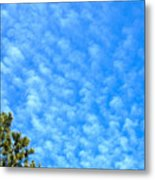 Little Clouds Metal Print