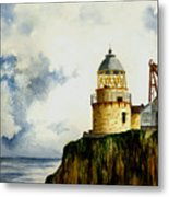 Little Cumbrae Lighthouse Metal Print