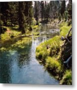 Little Deschutes Photograph Metal Print