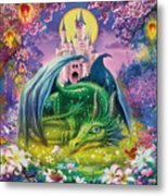 Little Dragon Metal Print