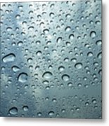 Little Drops Of Rain Metal Print