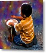Little Drummer Boy Metal Print