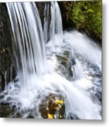 Little Elbow Waterfall Metal Print by Thomas R Fletcher