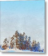 Little Forest Metal Print