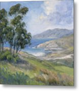 Little Harbor - Catalina Island Painting Metal Print