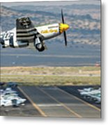 Little Horse Gear Coming Up Friday At Reno Air Races 16x9 Aspect Metal Print