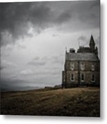 Little House In The Shadows  Metal Print