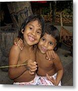 Little Indians  Amazon Metal Print