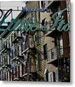 Little Italy In New York Metal Print