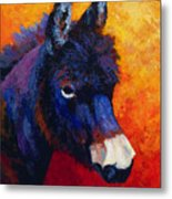 Little Jack - Burro Metal Print