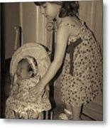 Little Mommy Metal Print