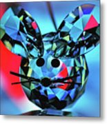 Little Mouse - Lead Crystal Metal Print