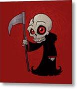 Little Reaper Metal Print