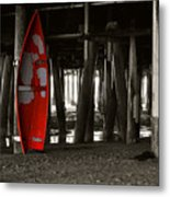 Little Red Boat IIi Metal Print