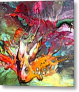 Little Red Dragonmaker Metal Print