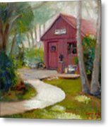 Little Red School House Metal Print