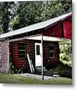 Little Red Shack Metal Print