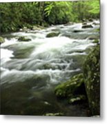Little River 3 Metal Print