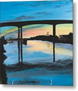 Little River Waterfront Metal Print