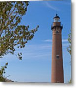 Little Sable Point Lighthouse Metal Print
