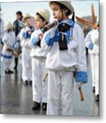 Little Sailors Metal Print
