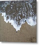 'little Sails' In The Surf Metal Print