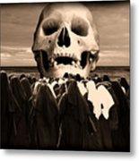 Little Sisters Of The Divine Skull Metal Print