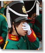 Little Soldier I Metal Print