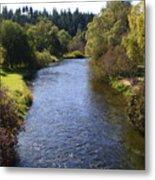Little Spokane River Metal Print