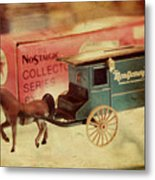 Little Stagecoach Metal Print