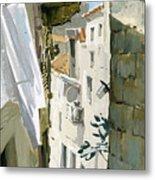 Little Street In Dubrovnik Metal Print