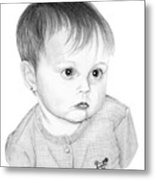 Little Sweetie Metal Print