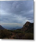 Little Sycamore Canyon Road Metal Print