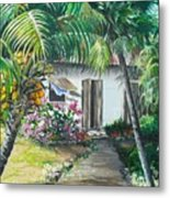 Little West Indian House 2...sold Metal Print