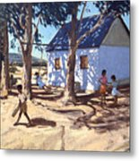Little White House Karoo South Africa Metal Print