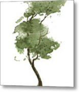 Little Zen Tree 206 Metal Print