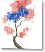 Little Zen Tree 291 Metal Print