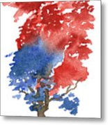 Little Zen Tree 292 Metal Print
