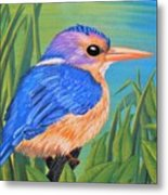 Litttle King Of The Fishers Metal Print